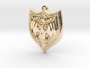 HEETER pendant  in 14K Yellow Gold