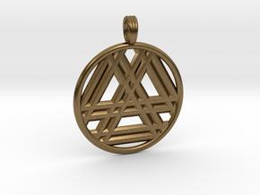 RESONANT TRINITY in Natural Bronze