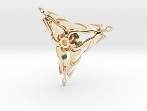 Flickel in 14k Gold Plated Brass