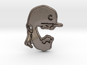 Arrieta Bottle Opener in Polished Bronzed Silver Steel