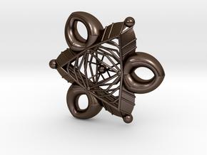 Triakral in Polished Bronze Steel