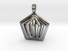 PENTA-FLOWER in Premium Silver