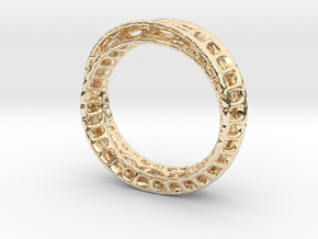 Twisted Bond Ring Size14 (23mm) in 14K Yellow Gold
