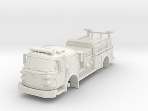 1/64 Super Pumper ALF Satellite in White Strong & Flexible