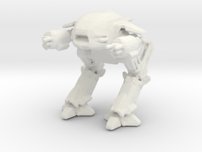 Ed209 (re sized) in White Strong & Flexible