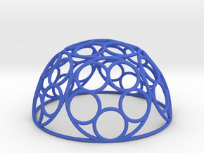 Ring Dome in Blue Strong & Flexible Polished
