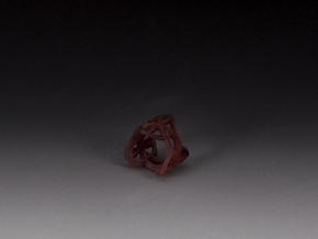 Celtic Knot Ring in White Natural Versatile Plastic
