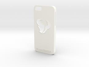 MAVERICKS IPHONE 6 CASE in White Processed Versatile Plastic