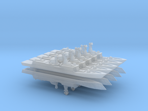 PLA[N] 054A x 10, 1/6000 in Smooth Fine Detail Plastic