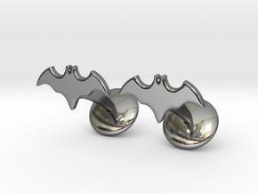 Batman Dead End Cufflinks in Fine Detail Polished Silver