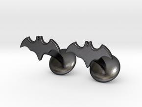 Batman Dead End Cufflinks in Polished and Bronzed Black Steel