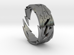 Power : Zeus Ring Size 9 in Polished Silver