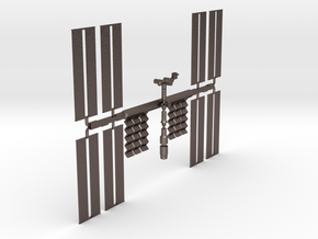 ISS in Stainless Steel
