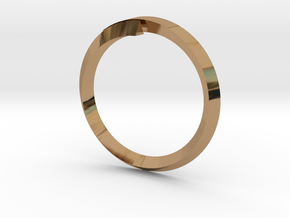 (T)Ring(le) in Polished Brass