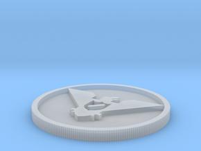 Arastoska coin in Smoothest Fine Detail Plastic