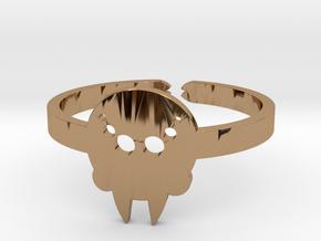 [Halloween] Spider in Polished Brass