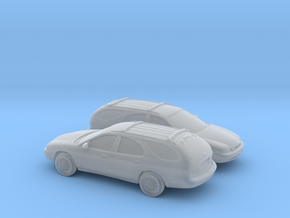 1/160 2X 1995-99 Mercury Sable Wagon in Smooth Fine Detail Plastic