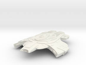 Raven Class II  Fast Destroyer in White Natural Versatile Plastic