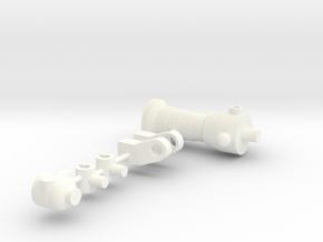 Robot Name Glitch in White Processed Versatile Plastic
