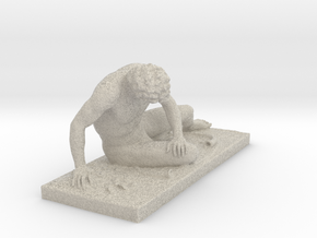 The Dying Galatian At The Capitoline Museums, Rome in Natural Sandstone