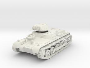 GVLT01148 Sd.kfz 101 ausf.B Panzer IB 1:48 in White Natural Versatile Plastic