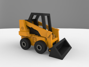 Bobcat Loader (1:400 Scale) in Frosted Ultra Detail