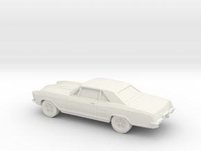 1/87 1963 Buick Riviera in White Natural Versatile Plastic