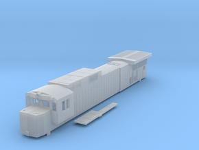 Conrail N Scale C39-8 in Smooth Fine Detail Plastic