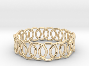 Ring Bracelet 73 in 14K Yellow Gold
