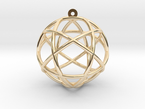 Penta Sphere in 14K Yellow Gold