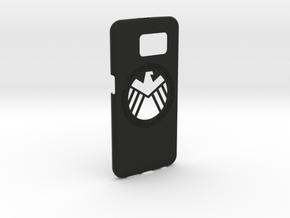 Galaxy S6 Capa S.H.I.E.L.D.(1.5mm) in Black Natural Versatile Plastic
