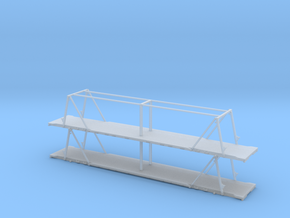 N 53' RailDeck - Vert - Stack in Smooth Fine Detail Plastic