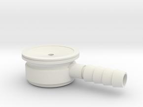 Pediatric Stethoscope in White Natural Versatile Plastic