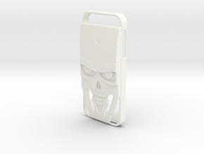 Iphone 5 / 5S Terminator in White Processed Versatile Plastic