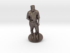 Charlie Rhodamer As 1880s Baseballer in Stainless Steel