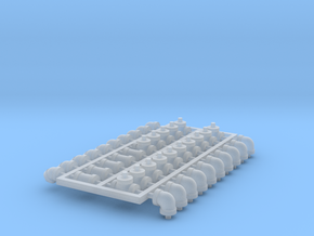 Set 4in 2b-1 in Smooth Fine Detail Plastic