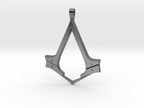 AC Syndicate Pendant in Polished Nickel Steel