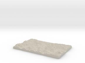 Model of Klause in Sandstone