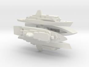 Avenger 1/3000 X4 in White Natural Versatile Plastic