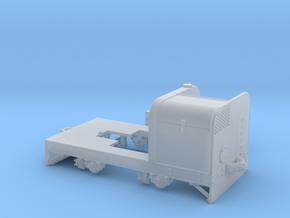 Jung Feldbahndieseltriebwagen 1:35 Var1 in Smooth Fine Detail Plastic