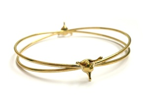 LoveSplash bracelet in Polished Brass
