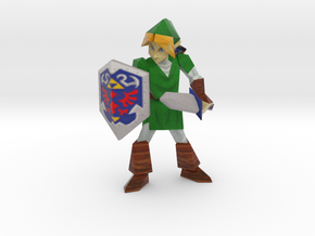 Link Adult Retro - 90mm in Full Color Sandstone