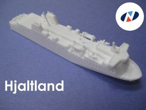 MV Hjaltland (1:1200) in White Natural Versatile Plastic