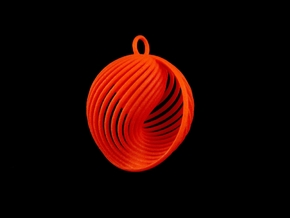 Quark Pendant - Eternal (1SyhNA) in Red Processed Versatile Plastic