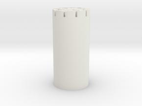 Empire Blade Plug  in White Natural Versatile Plastic