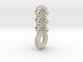 """""""Quit The Typical & Feel Empowered"""" Pendant in Natural Sandstone"""