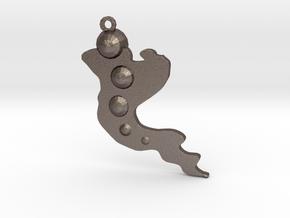 Dancin' in Polished Bronzed Silver Steel