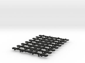 NEM Coupler Dapol in Black Natural Versatile Plastic