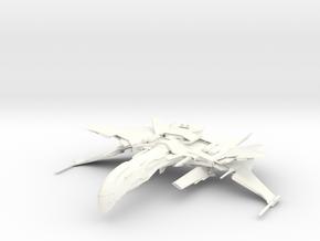 Valtor Class FireBird in White Strong & Flexible Polished