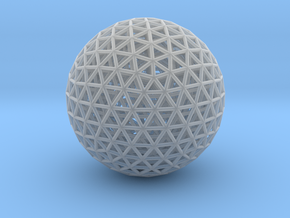 Nested Geodesic in Smoothest Fine Detail Plastic